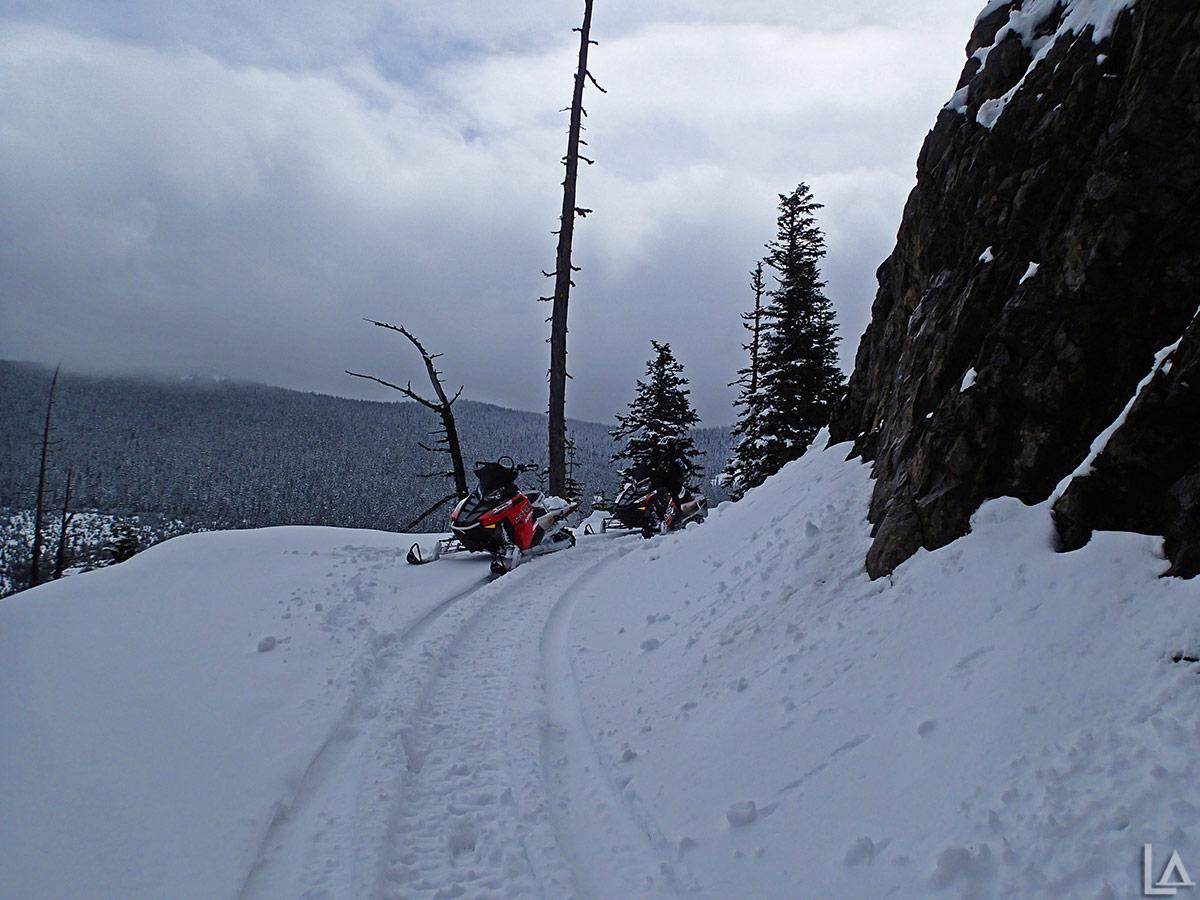 Spring snowmobiling ar...