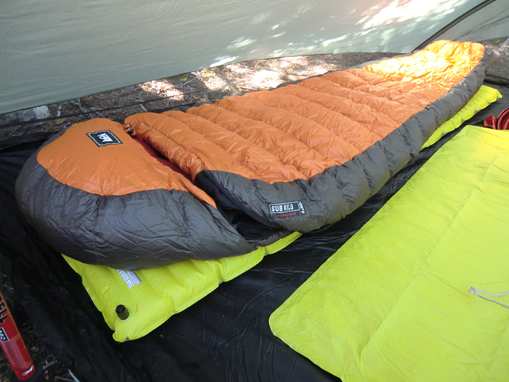 Rei sub kilo 20 sleeping bag review loomis adventures for Rei fishing gear
