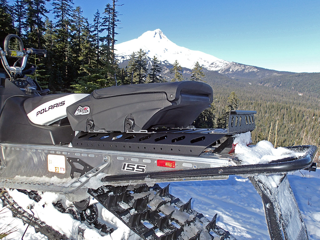 Up North Technologies Pro Series Snowmobile Cargo Rack